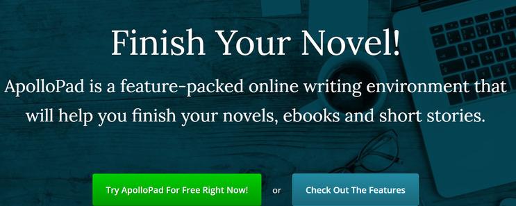 apollopad novel writing