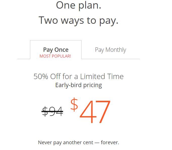 Writer's work pricing