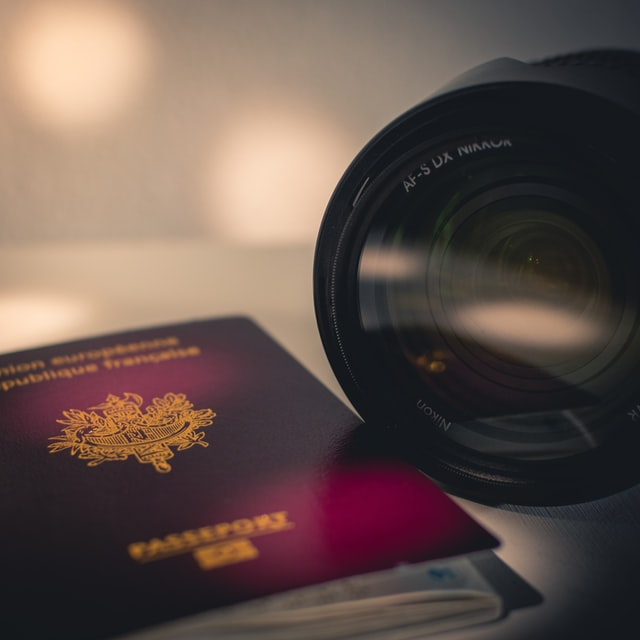 Apply with requirements, example passport